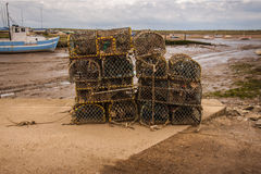 Old lobster pots Stock Photography
