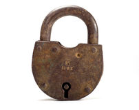 Old lock royalty free stock image