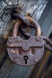 Old Lock. Ukraine. A museum of national architecture and life Pirogovo stock images