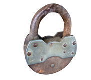 The old lock Royalty Free Stock Photography