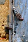 Old lock of an door. Old lock of an old door Stock Photos