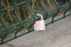 Old Lock Royalty Free Stock Images