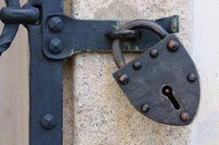 Old lock Royalty Free Stock Photography