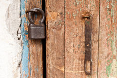 Old lock Stock Image