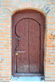 Old Locked Door. Of An Abandoned Village House Stock Photos