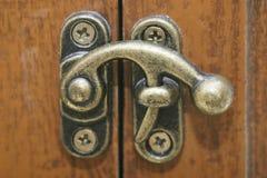 Old Locking Mechanism Royalty Free Stock Image