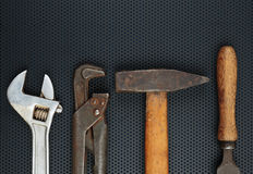Old locksmith tools Stock Images