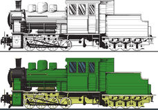 An old locomotive Royalty Free Stock Images