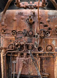 Old locomotive boiler Royalty Free Stock Images