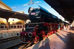 Old locomotive - Bucharest, Romania Royalty Free Stock Images