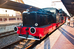 Old locomotive - Bucharest, Romania Royalty Free Stock Photography