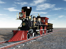 Old Locomotive Royalty Free Stock Images