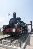 Old locomotive in France Royalty Free Stock Image