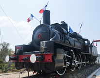 Old locomotive in France Stock Image