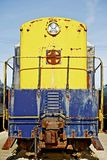 Old Locomotive Front Royalty Free Stock Photos