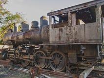 Old locomotive from Havana. Cuba stock photo