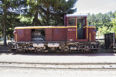 Old locomotive in Hungary Stock Images