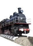 Old Locomotive Isolated Stock Photography