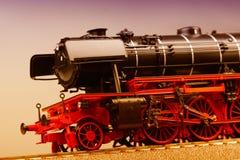 Old Locomotive Model Stock Photo