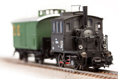 Old Locomotive Model Stock Photography