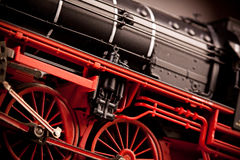 Old Locomotive Model details Stock Photography