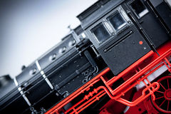 Old Locomotive Model details Stock Photo