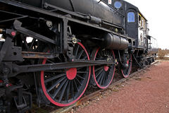 Old locomotive in Mora. Sweden Stock Photography