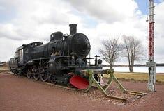 Old locomotive in Mora. Sweden Stock Photos