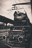 Old locomotive Stock Photography