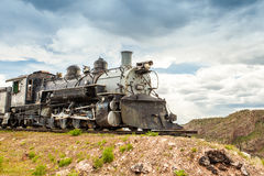 Old locomotive. Royal Gorge Area, Colorado, USA royalty free stock photography