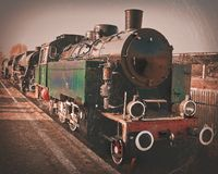 An old locomotive. Stock Image
