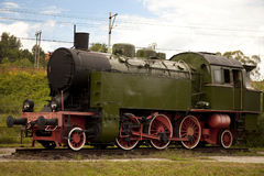 Old locomotive Stock Photography