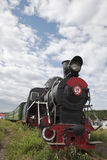 Old locomotive train Stock Photography