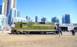 Old Locomotive Stock Photo