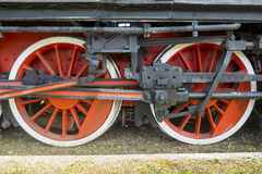 Old locomotive in Tuscany Stock Photography