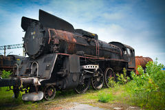 An old locomotive Stock Photos