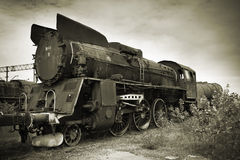 An old locomotive Stock Images