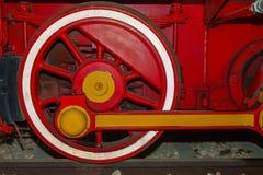 Old Locomotive wheel Royalty Free Stock Image