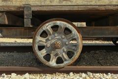 Old Locomotive wheel Stock Photos