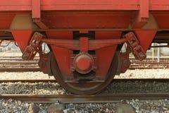 Old Locomotive wheel Stock Photography