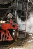 Old locomotives. Royalty Free Stock Image