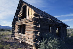 Old Log Cabin Royalty Free Stock Photo