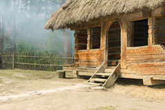 Old log cabin Royalty Free Stock Images