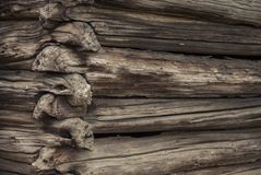 Old Log Cabin Royalty Free Stock Photos