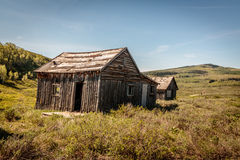 Old Log Cabin Stock Image