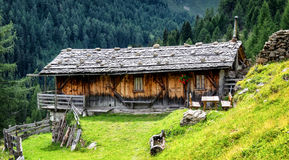 Old log cabin Royalty Free Stock Photography