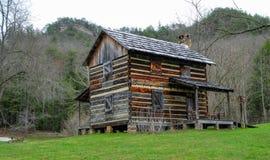 Old Log Cabin Stock Photos