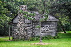 Old Log Cabin Stock Images