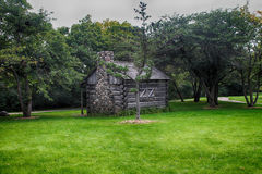Old Log Cabin Royalty Free Stock Image