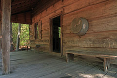 Old Log Cabin Pioneer Living Royalty Free Stock Images